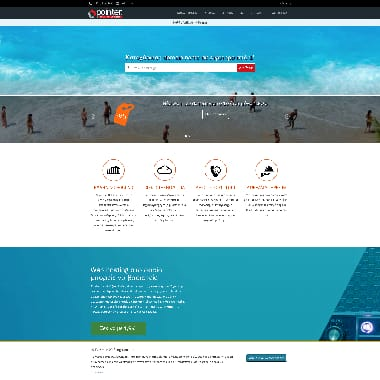 Pointer HomePage Screenshot